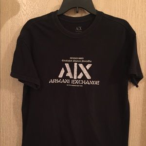 Armani Exchange Tee | Size Medium | Black